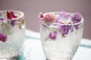Prosecco, elderflower and gin